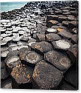 Giant's Causeway Hexagons Canvas Print