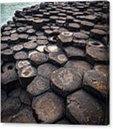 Giant's Causeway Pillars Canvas Print