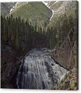 Gibbon Falls Canvas Print