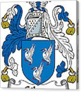 Gibson Coat Of Arms Irish Canvas Print