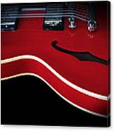 Gibson Es-335 Electric Guitar Canvas Print