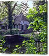 Giethoorn Thatch Canvas Print