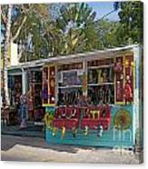 Gift Shop In Key West Canvas Print