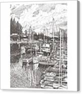 Gig Harbor Entrance Canvas Print