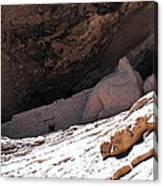 Gila Cliff Slope Canvas Print