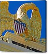 Gilded Eagle Canvas Print