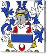 Gilligan Coat Of Arms Irish Canvas Print