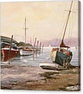 Gillingham Pier On The Medway Canvas Print