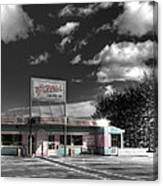 Gillis' Drive-in Canvas Print