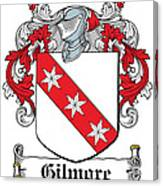 Gilmore Coat Of Arms Irish Canvas Print