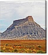 Gilson Peak Along The Colorado River Canvas Print