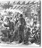 Gin Mill: London, 1861 Canvas Print