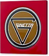 Ginetta Name Badge Canvas Print