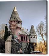 Gingerbread Castle Canvas Print