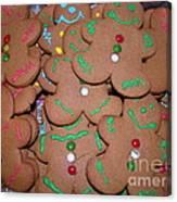 Gingerbread Cookies Canvas Print