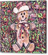 Gingerbread Fantastico Canvas Print