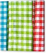 Gingham Canvas Print