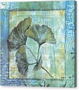 Gingko Spa 2 Canvas Print