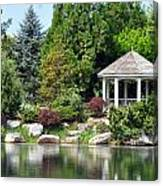 Ginter Gazebo Canvas Print