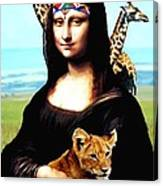 Gioconda Travelling - Africa Canvas Print