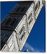 Giotto Fantastic Campanile - Florence Cathedral - Piazza Del Duomo - Italy Canvas Print