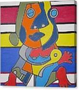 Gipsy Woman Canvas Print