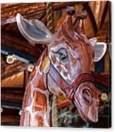 Giraffe Ride Canvas Print