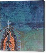 Girl From Guadalupe Canvas Print