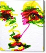 Girl In Sunlight Canvas Print
