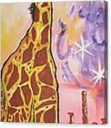 Girraffe Canvas Print