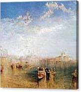 Giudecca La Donna Della Salute And San Georgio Canvas Print