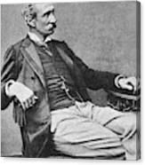 Giuseppe Zanardelli (1824-1903) Canvas Print