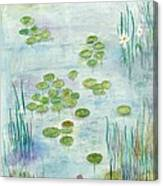Giverny Dreaming Canvas Print