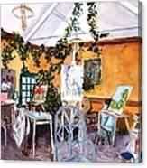 Giverny L'etalier  Canvas Print