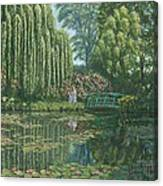 Giverny Reflections Canvas Print