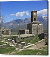 Gjirokaster Castle Albania  Canvas Print