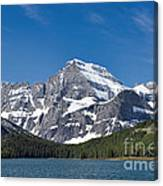 Glacier National Park Mountain Canvas Print