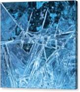 Glacial Ice Formations Canvas Print