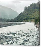 Glacial River Canvas Print