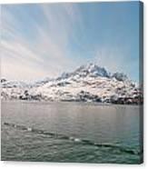 Glacial Sky Canvas Print