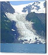 Glacial Spillover Canvas Print