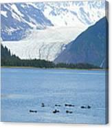 Glacier 10 Canvas Print