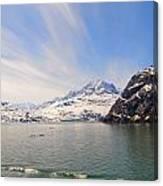 Glacier Bay Sky Canvas Print