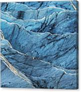 Glacier Blue Canvas Print