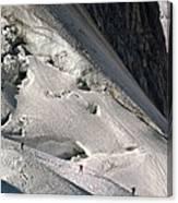 Glacier Du Geant, French Alps Canvas Print