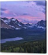 Glacier Glow Canvas Print