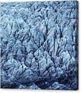 Glacier Ice Canvas Print