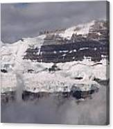 Victoria Glacier Mist - Lake Louise, Alberta Canvas Print
