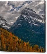 Glacier National Park Big Bend Canvas Print