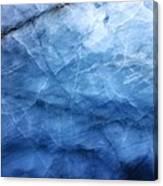 Glacier Of Glass Canvas Print